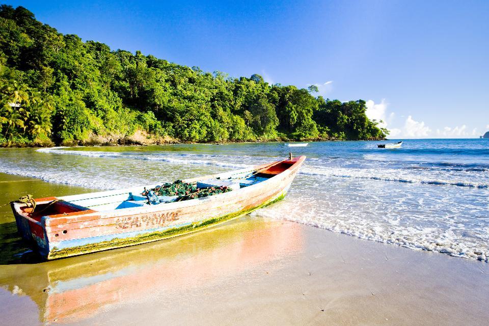 Las playas de Trinidad , Trinidad y Tobago
