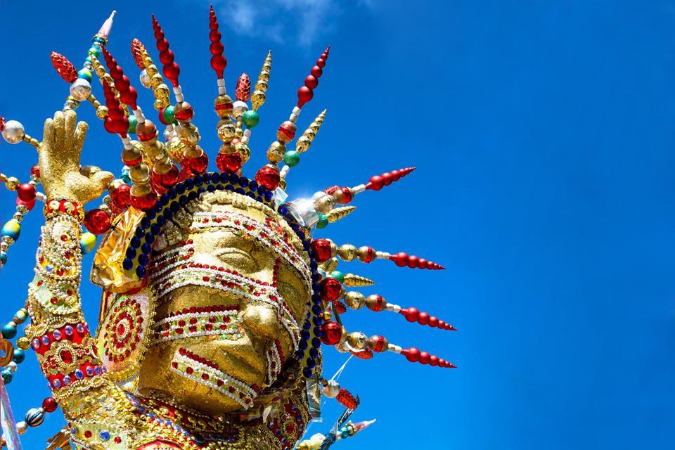 El carnaval de Trinidad , Trinidad y Tobago