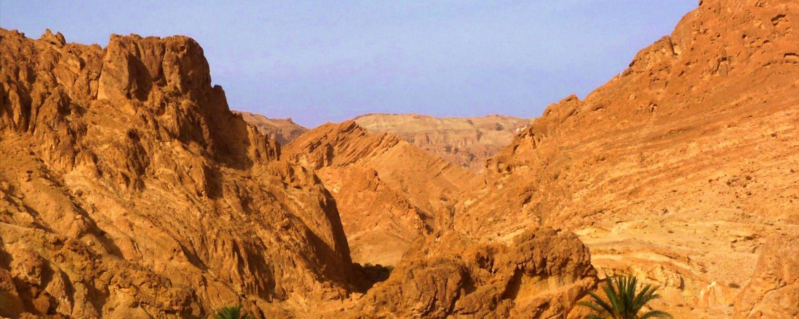 L'Atlas, Les paysages, Tunisie