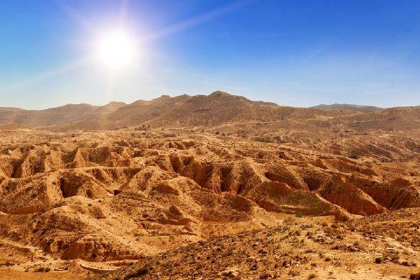 L'Atlas , Atlas saharien , Tunisie