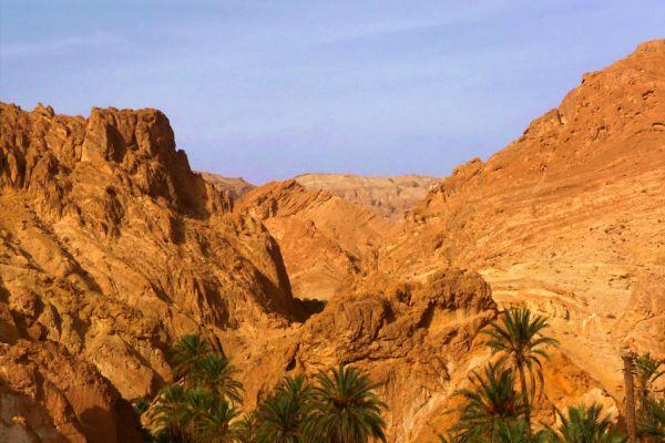 Der Atlas , Das Atlasgebirge , Tunesien