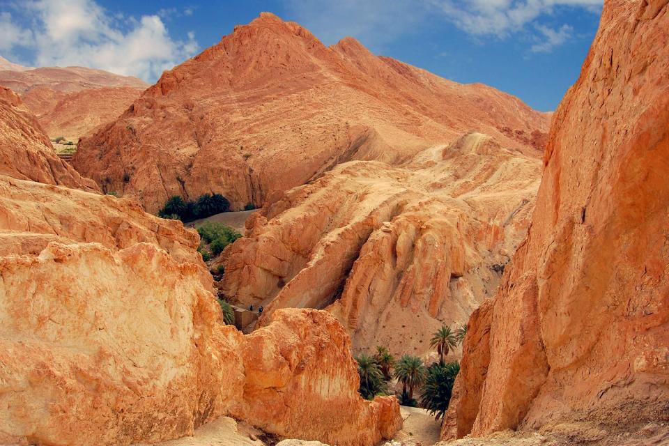 El Atlas , Macizo montañoso tunecino , Túnez