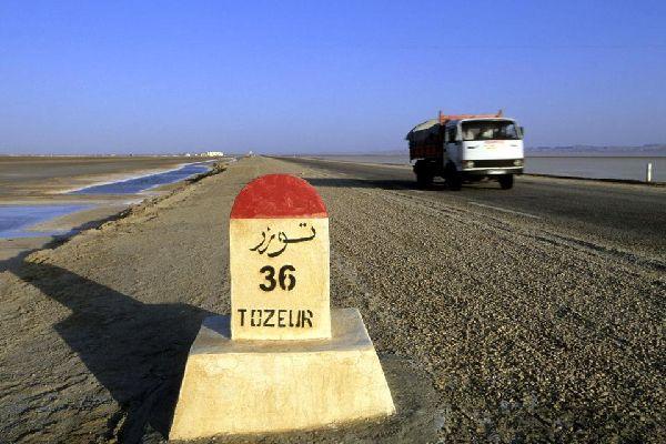 Les chotts , Chott tunisien , Tunisie
