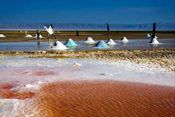 Die Schott, Die Chotts, Die Landschaften, Tozeur, Tunesien