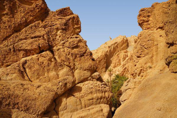 Der Canyon von Mides , Tunesien