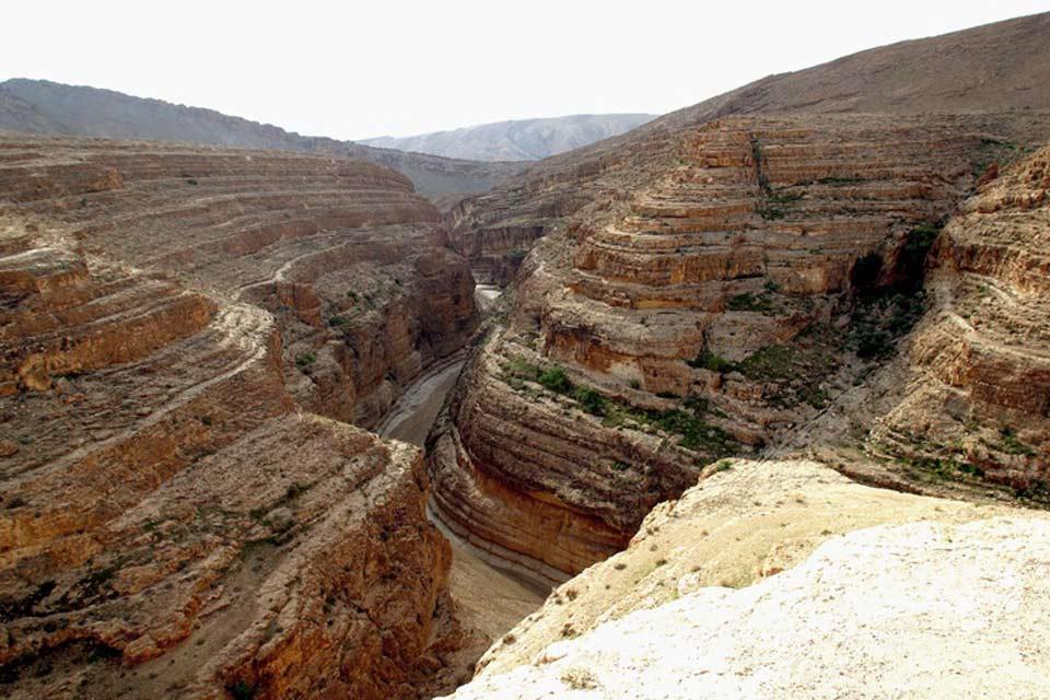 Le canyon de Midès , Midès , Tunisie