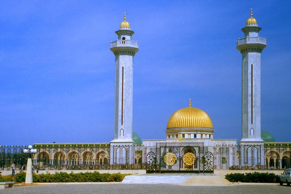Monastir , Basheikh Mosque. , Tunisia