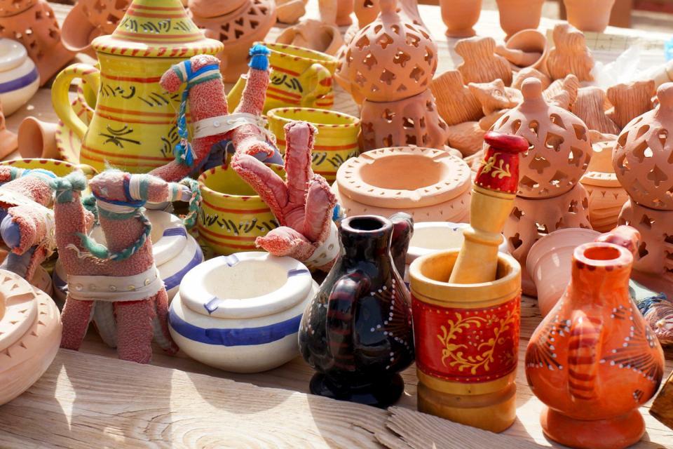 La poterie berbère , Tunisie
