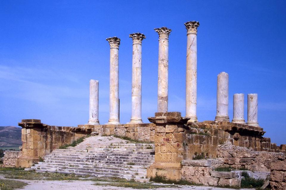 Thuburbo Majus , Ruines de Thuburbo Majus , Tunisie
