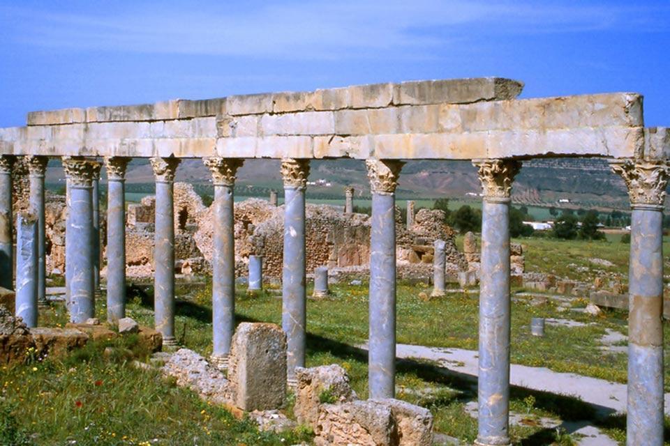 Thuburbo Majus , Site archéologique de Thuburbo Majus , Tunisie
