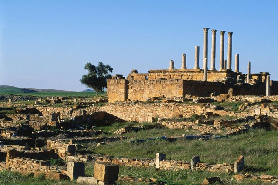 Thuburbo Majus , Site antique de Thuburbo Majus , Tunisie