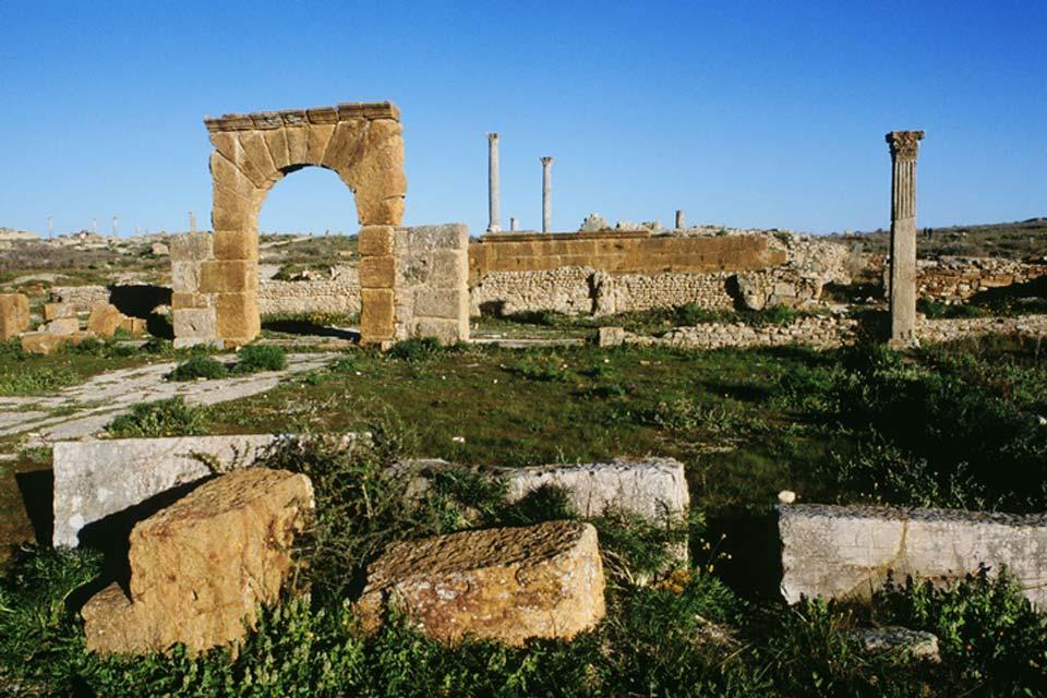 Thuburbo Majus , Cité de Thuburbo Majus , Tunisie