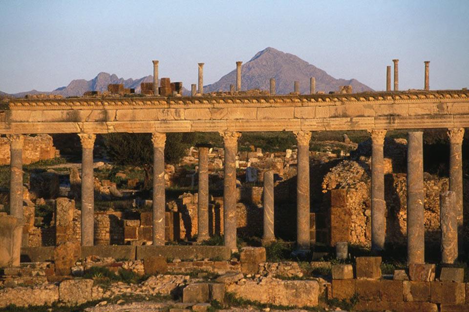 Thuburbo Majus , Site antique tunisien , Tunisie