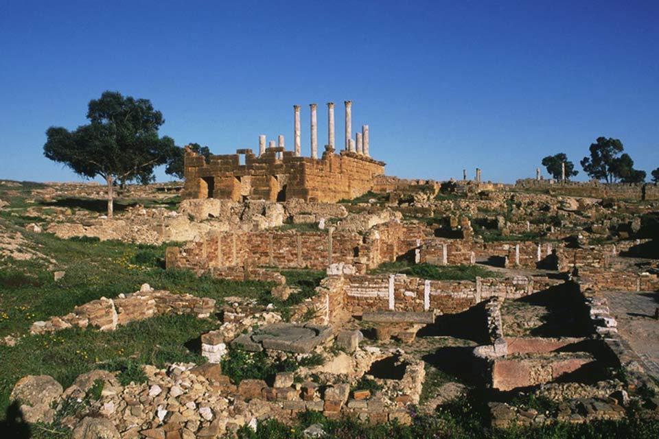 Thuburbo Majus , Tunisie
