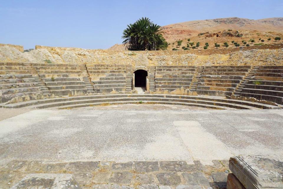 Bulla Regia , Site de Bulla Regia , Tunisie