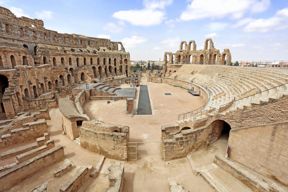 El-Jem , The El Djem Amphitheatre , Tunisia