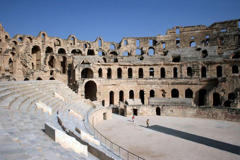 El Jem Colosseum, El-Jem, Monuments, Sousse, Tunisia