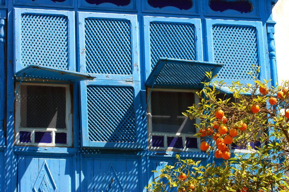 Les grilles en fer forgé , Grilles traditionnelles tunisiennes , Tunisie