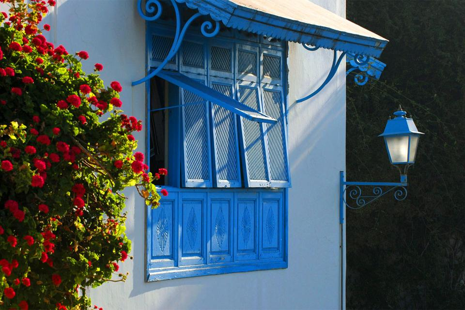 Cast iron grills , A Tunisian window , Tunisia
