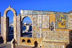 I tetti a terrazza , Vista da una terrazza tunisina , Tunisia