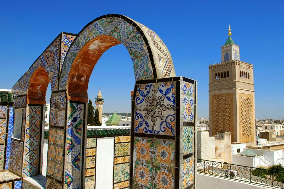 Les toits en terrasse , Tunisie