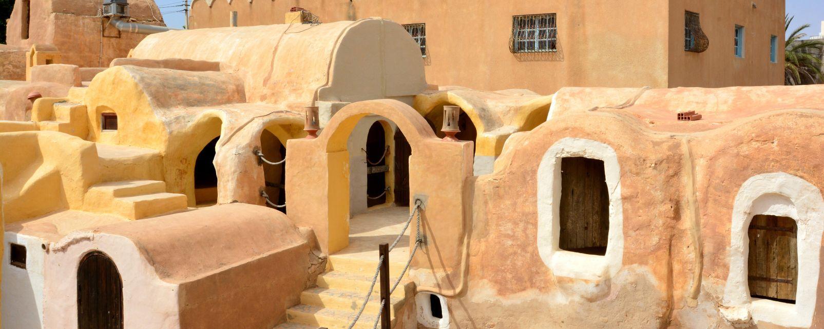 Ksar Haddada, I castelli del deserto, Tataouine, Tunisia