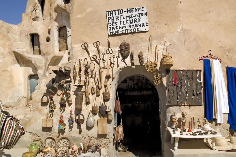 Le village de Medenine , Toujane , Tunisie
