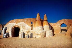 Le décor de La Guerre des Etoiles , Tunisie