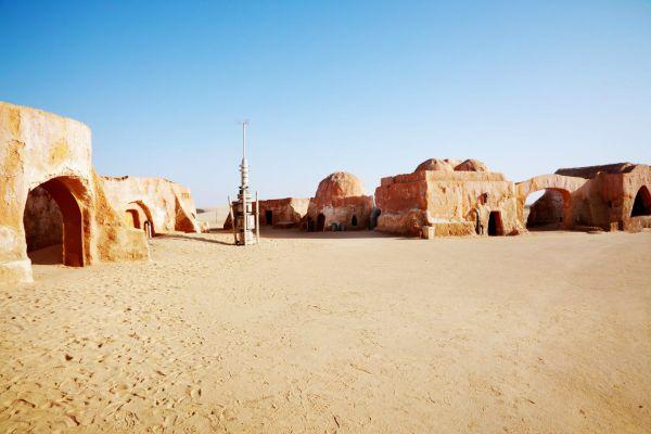 , The Star Wars setting, The desert castles, Matmata, Tunisia