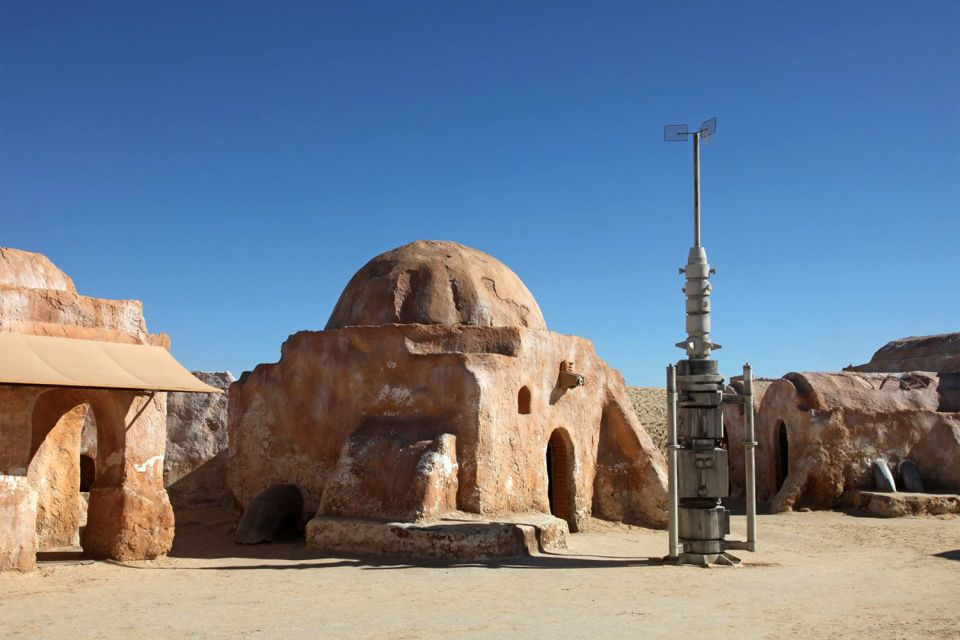 , The Star Wars setting, The desert castles, Matmata, Tunisia