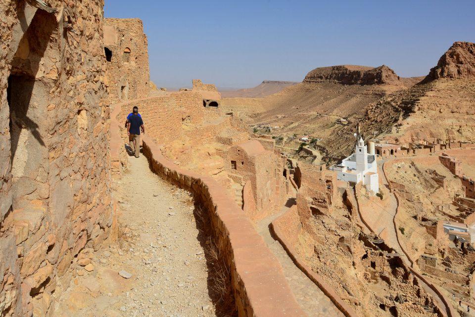 Les châteaux du désert, Tunisie, afrique, maghreb, monde musulman, désert, tataouine, chenini