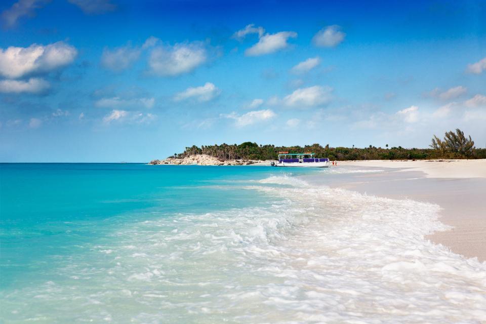 Los lagos naturales , Turks y Caicos