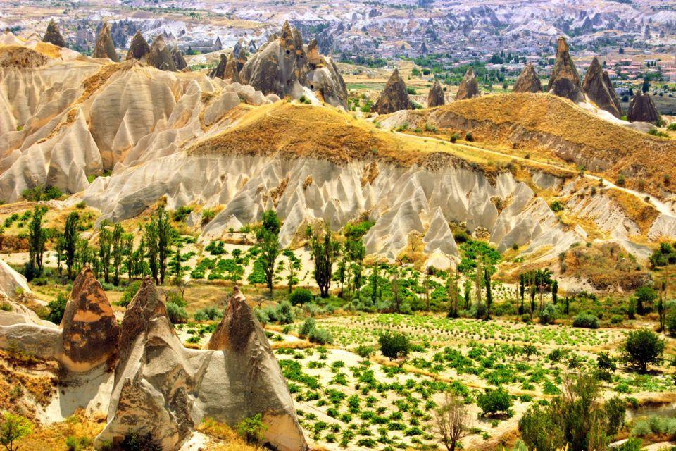 La Cappadoce, Les paysages, Kayseri, Le Nord de la Turquie