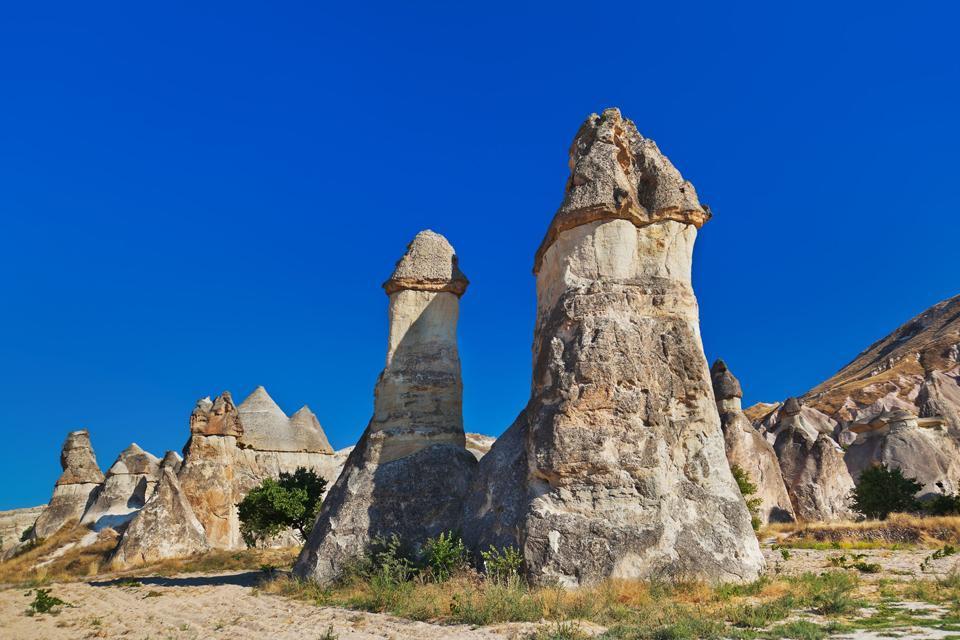 Capadocia , Un paisaje lunar , Turquía