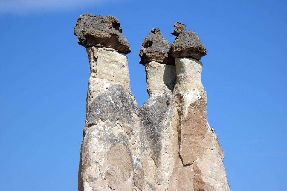 La Cappadoce , Le terrain de la Cappadoce , Turquie
