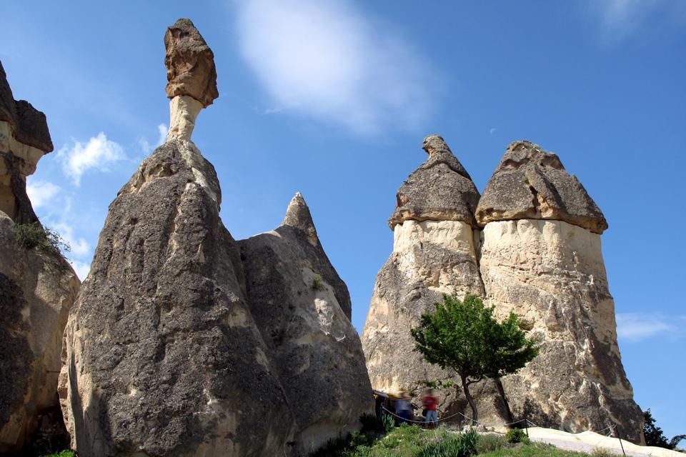 La Cappadoce , Les circuits de la Cappadoce , Turquie