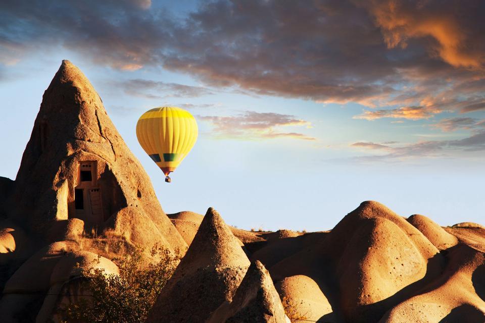 Capadocia , Un magnífico panorama , Turquía