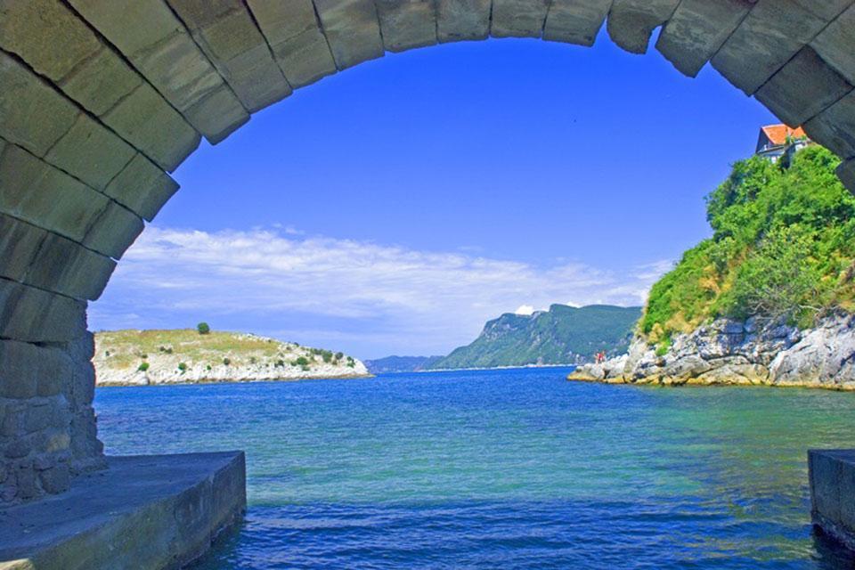 La côte de la mer Noire , La ville d'Amasra , Turquie