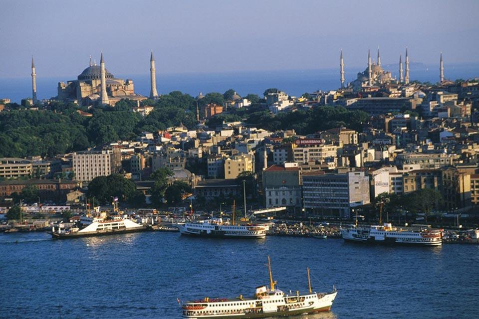 Sea of Marmara , Istanbul , Turkey