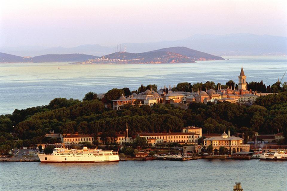 El mar de Mármara , El palacio de Topkapi , Turquía