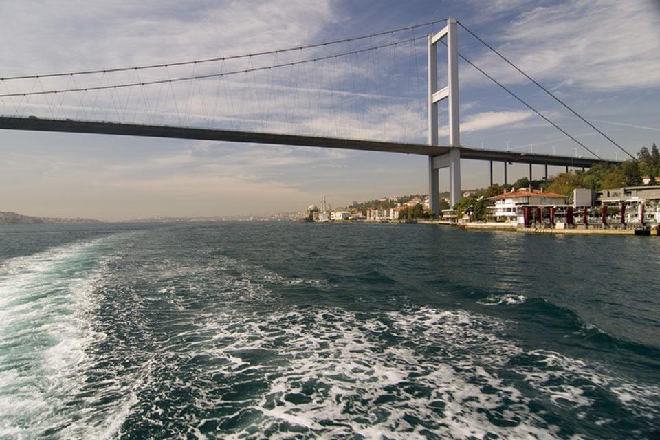 El mar de Mármara , La superficie del mar de Mármara , Turquía