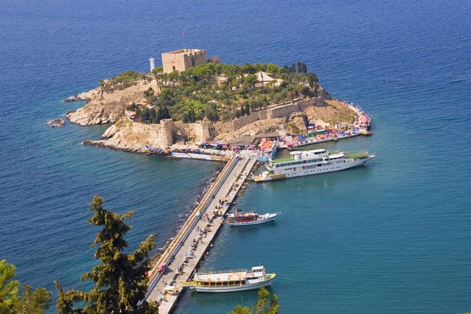 La côte égéenne , L'île aux oiseaux , Turquie