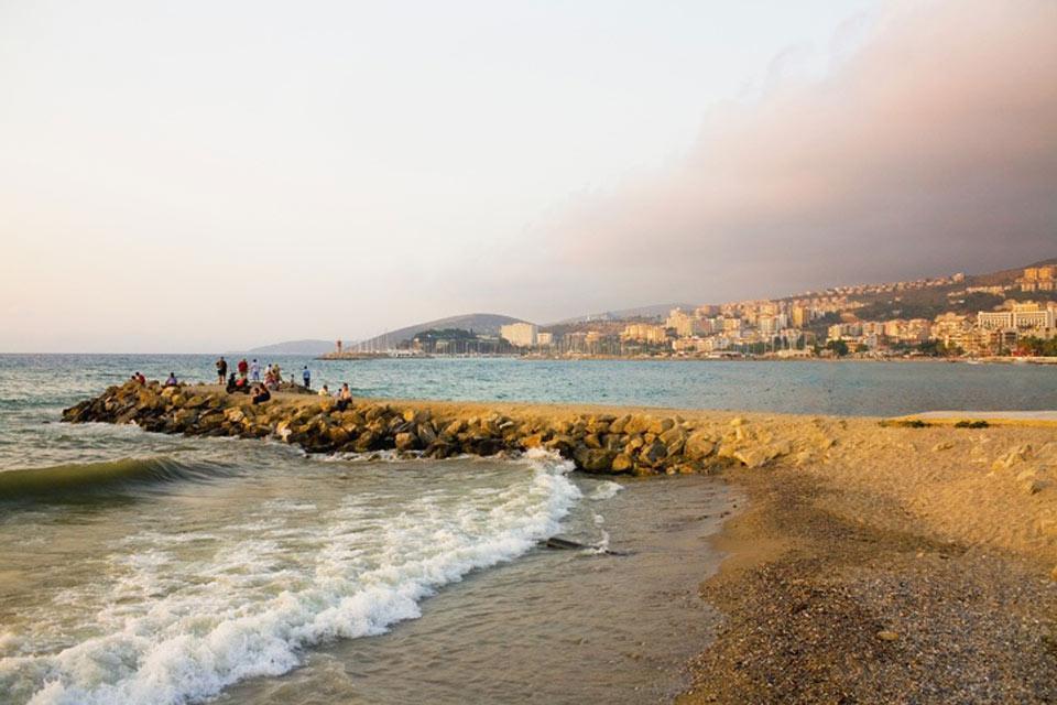 La côte égéenne , Mer Egée , Turquie