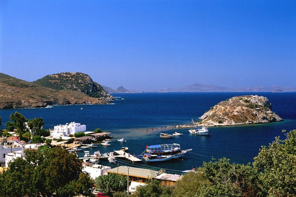La côte égéenne , La péninsule de Bodrum , Turquie