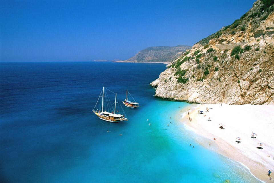La côte méditerranéenne , Turquie