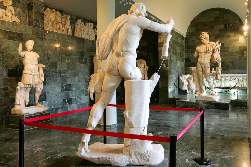 The Istanbul Archeological Museum , Istanbul Archaeology Museums , Turkey