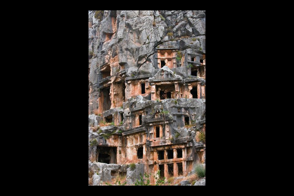 Les sites archéologiques méditerranéens , Les témoignages du passé , Turquie