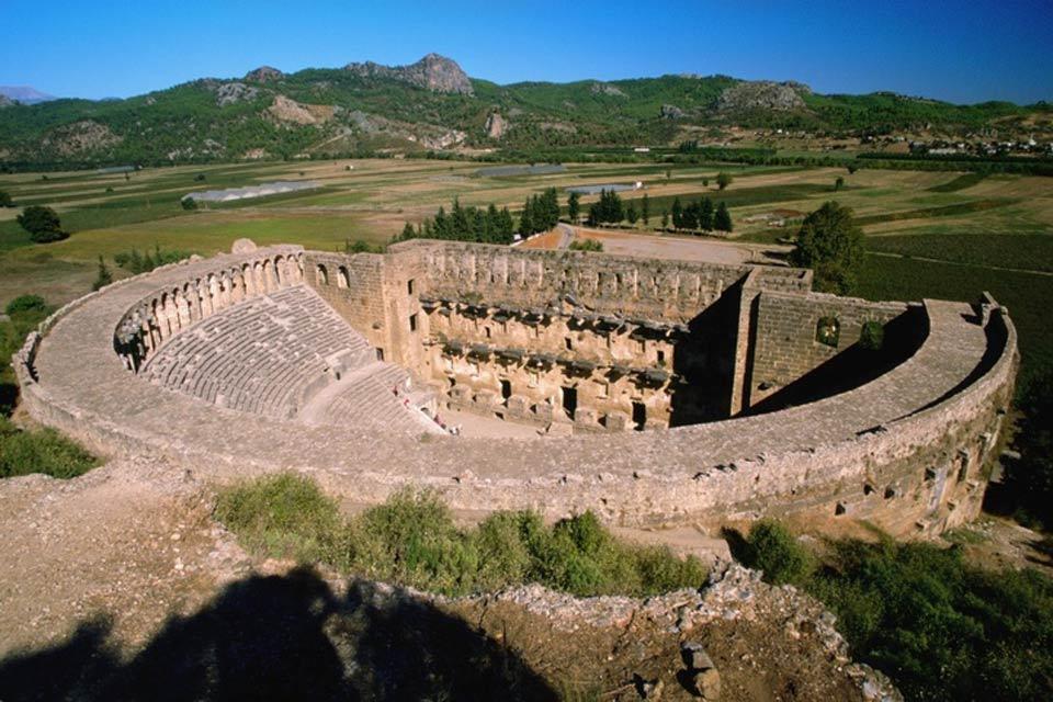 Les sites archéologiques méditerranéens , Turquie