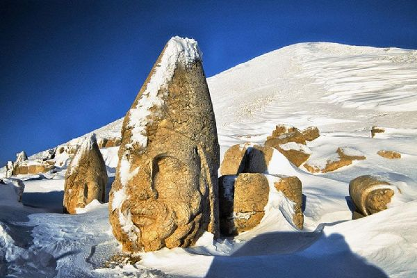 Nemrut Dagi , Mount Nemrut , Turkey