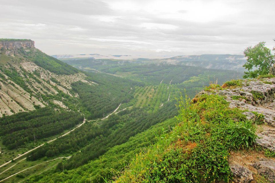 Die Berge der Krim , Ukraine